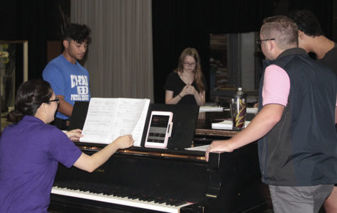 "JV Players open season with musical, ""The Addams Family"""