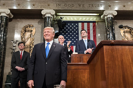 State of Union Address through my eyes