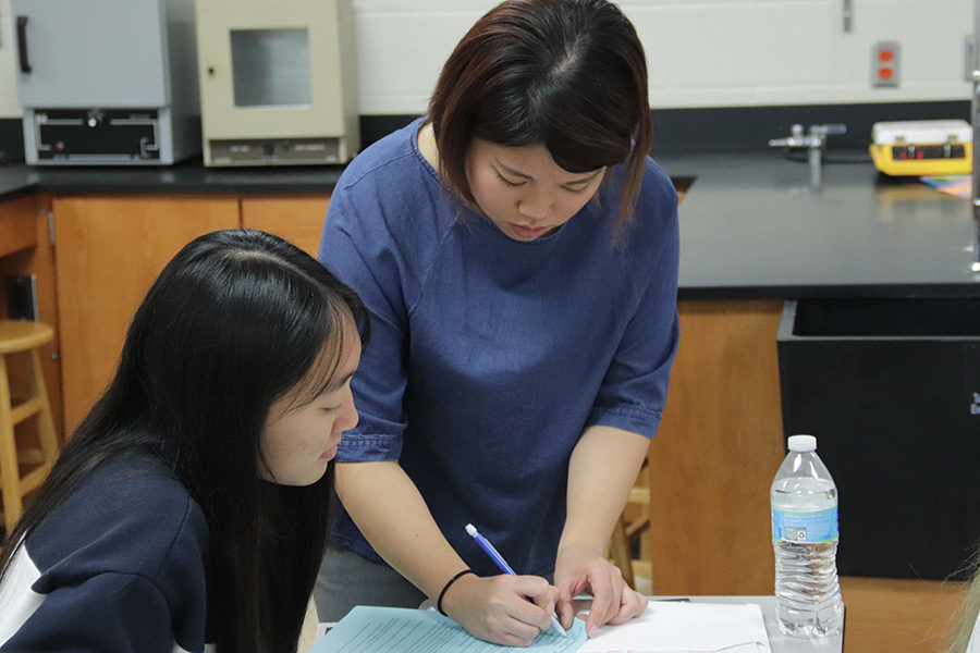 """Many difficulties lay between Shih Woon, chemistry teacher  and teaching proficiently while teaching in South Korea. """"The education system focused a lot more on testing and lectures instead of hands-on laboratory experiences, so the campus I was at had very limited equipment and resources when it came to labs,""""  Woon said."""