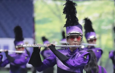 Band competes at state contest for 1st time in school history