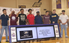 Eight more athletes sign to play collegiate sports