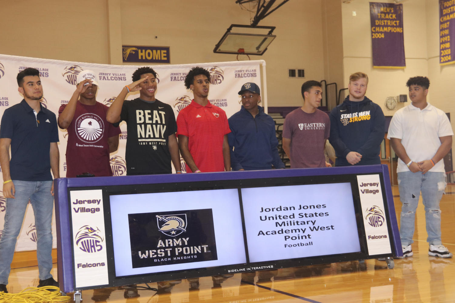 Eight athletes sign today on National Signing Day to play football and soccer for schools across the U.S.
