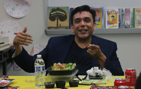 Author shares experiences with ESL students