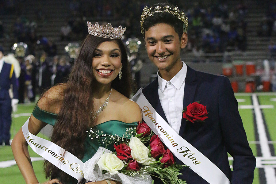 Seniors Ariana Alaniz and Cesar Pena were crowned Queen and King for the school's 2019 Homecoming celebrations. As has been done for many years, the school's senior class nominated the members of the court. Beginning a weeks long campaign, that included the candidates making posters and handing out candy, to encourage students to vote for them. The title of Homecoming King and Queen gives the recipients the role of representing the student body in its homecoming celebrations and boost the spirit of the students.